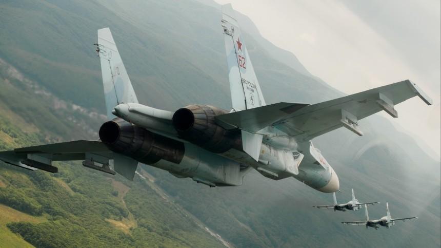 Су-27 сопроводил самолет-разведчик ВВС Франции над Балтийским морем