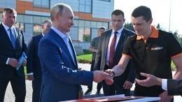 Путин открыл движение позаключительному участку ЦКАД