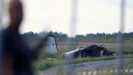 ВШвеции при взлете потерпел крушение самолет спарашютистами