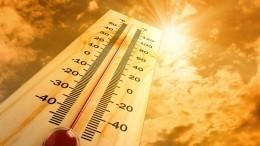 Новые рекорды: жара вПетербурге иМоскве выйдет напик ввыходные