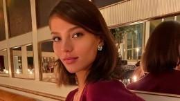 Алеся Кафельникова впервые стала мамой