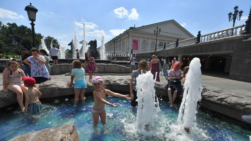 Жителей Европейской территории России предупредили опродлении аномальной жары