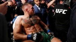 Очередной провальный реванш: Макгрегор сломал ногу вбою сПорье— фото