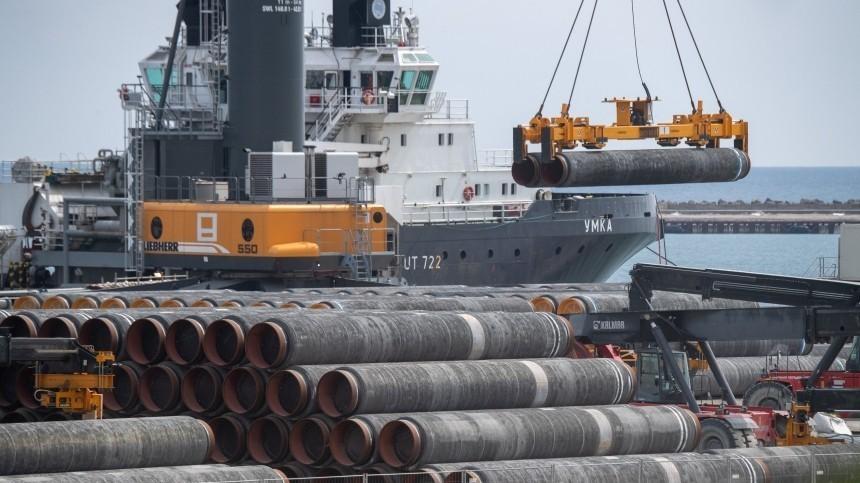 Оператор строительства «Северного потока— 2» назвал сроки окончания проекта