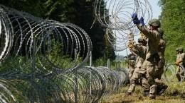 ЕСусиливает охрану границы Литвы сБелоруссией из-за нелегальных мигрантов