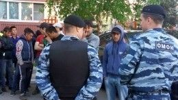Массовую драку устроили вМоскве около 200 мигрантов— видео