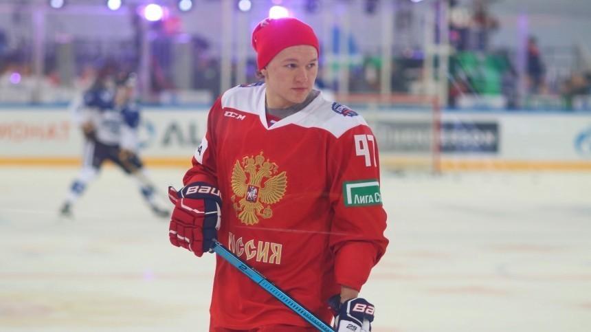 Звезда НХЛ засмущался при ответе навопрос оромане сдочерью Маликова