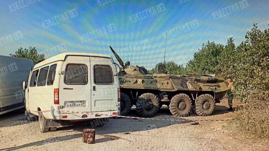 Список пострадавших при столкновении БТР и«Газели» вСтаврополье