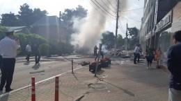 Число пострадавших при взрыве вгостинице вГеленджике возросло допяти— видео