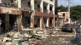 «Сильная была ударная волна»: очевидец овзрыве вгостинице вГеленджике
