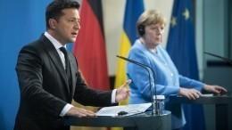 Зеленский оправдался перед журналистами запровал переговоров сМеркель