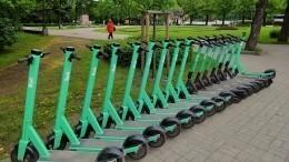 Наэлектросамокатах вПетербурге запретили ездить быстрее 20 км/ч