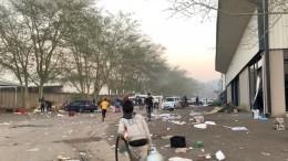 Жертвами беспорядков вЮАР стали более 70 человек