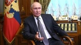 Путин заявил, что миллионы людей наУкраине хотелибы восстановления отношений сРоссией