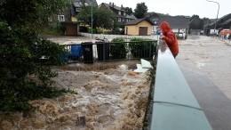 Германия уходит под воду из-за мощнейших ливней— видео