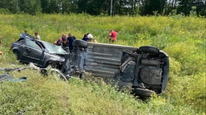 11 человек пострадали встрашном ДТП спятью авто под Саратовом