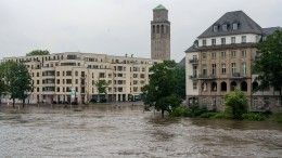 Почти полторы тысячи человек пропали без вести из-за наводнений вФРГ