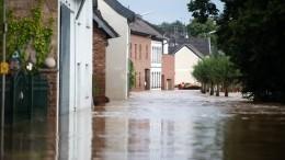Город, которого нет: Европу смывают проливные дожди
