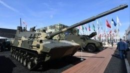 Новый плавающий танк «Спрут» успешно прошел испытания вЧерном море— видео