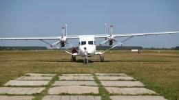 Эксклюзивное видео сместа жесткой посадки самолета Ан-28 под Томском