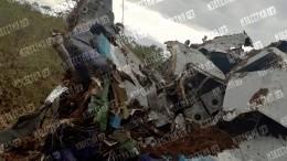 После жесткой посадки Ан-28 вТомской области госпитализировали двух человек