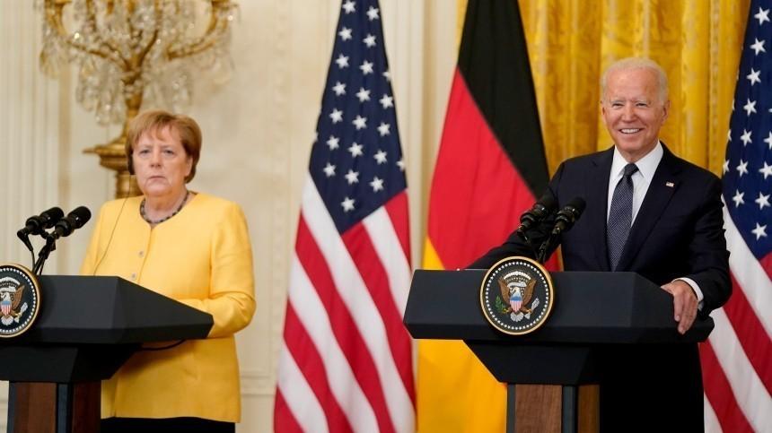 Офис Зеленского «обиделся» наМеркель иБайдена заотказ решать проблемы Украины