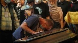 ВМоскве проходит церемония прощания сПетром Мамоновым
