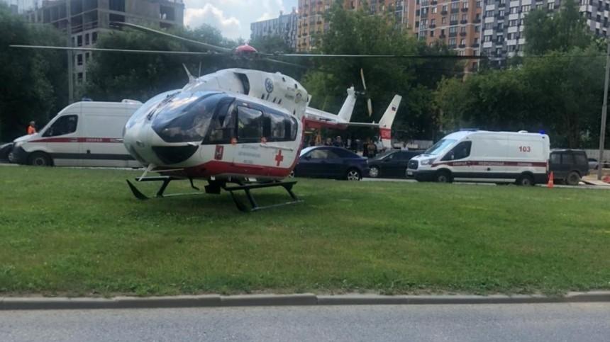 Скончался один изтрех детей, которых как кегли сбили назебре вМоскве