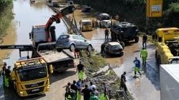 Железнодорожное сообщение между Германией иЧехией прервано из-за наводнения