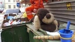 Младенца заморозили ивыбросили вмусорный бак под Красноярском— фото