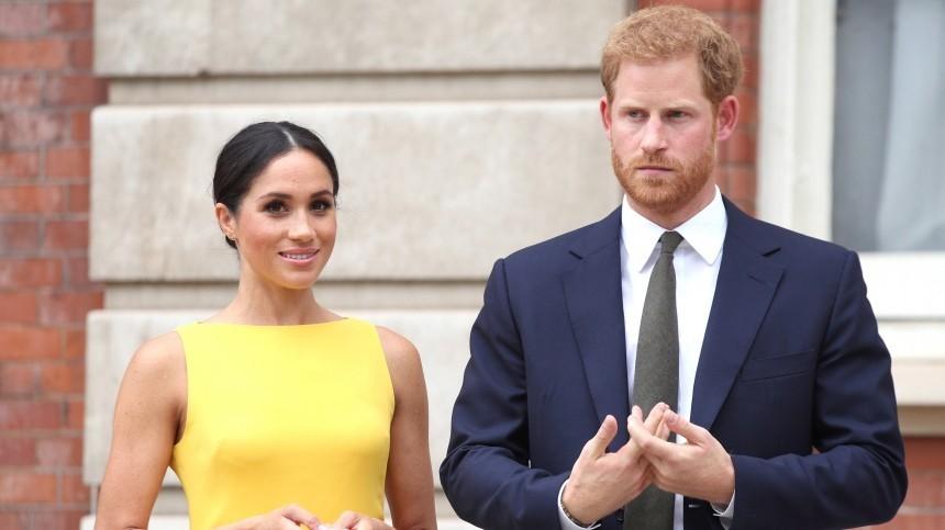 Меган Маркл ипринц Гарри решили крестить дочь потрадициям королевской семьи