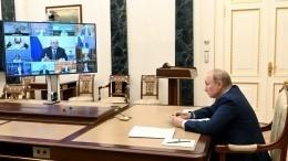 Путин заявил онедопустимости затягивания исполнения нацпроектов
