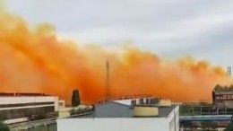 Взрыв нахимзаводе попроизводству селитры прогремел наУкраине