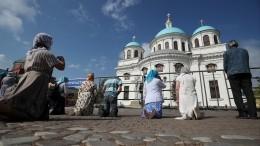 Патриарх Кирилл освятит восстановленный храм времен Ивана Грозного вКазани