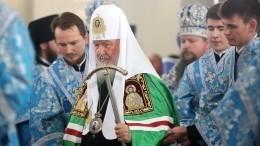 ВКазани освящают воссозданный собор Казанской иконы Божией Матери —видео