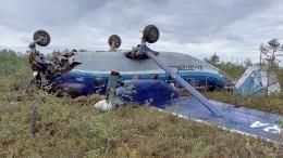 Пилот жестко севшего втайге Ан-28 объяснил, почему самолет невоспламенился