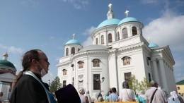Воссозданный собор Казанской иконы Божией Матери открыли вКазани