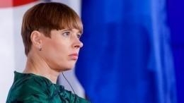 Паром спрезидентом Эстонии наборту врезался впричал порта