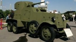 Уникальный военный броневик нашли надне реке вНовгородской области