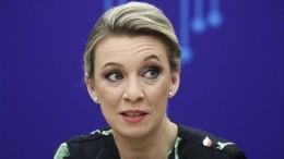 «Увидела— неповерила»: Захарова оценила картину сголыми братьями Кличко