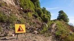 Вгорах Кабардино-Балкарии под камнепад попала группа туристов изМосквы