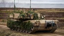 Польша пытается «отпугнуть» Россию, направив нанее американские танки