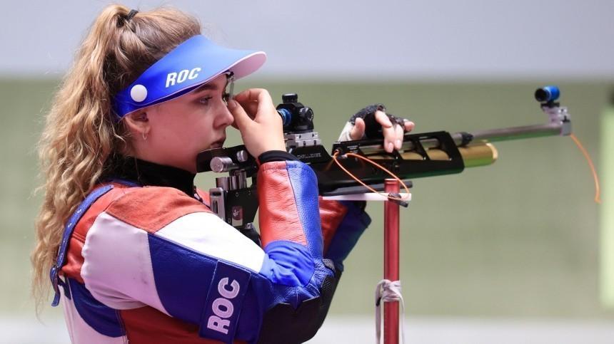 Галашина завоевала первую медаль для российских спортсменов наОлимпиаде