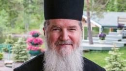 Умер руководитель центра «Свет Валаама» архимандрит Мефодий