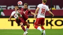 «Спартак» при новом тренере проиграл «Рубину» вКазани впервые с2014 года