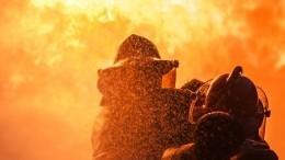 Водитель заживо сгорел после ДТП под Нижним Новгородом— жуткие кадры