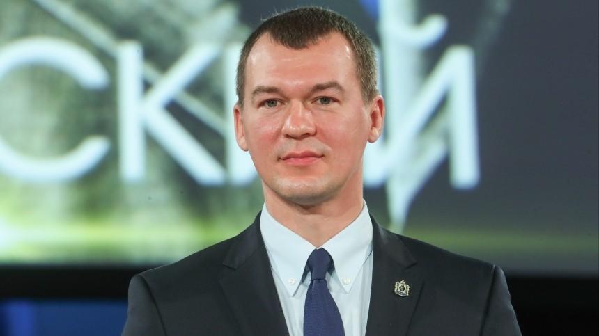 Дегтярев подал документы для участия ввыборах главы Хабаровского края