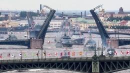 Мировые СМИ отреагировали напарад вДень ВМФ России