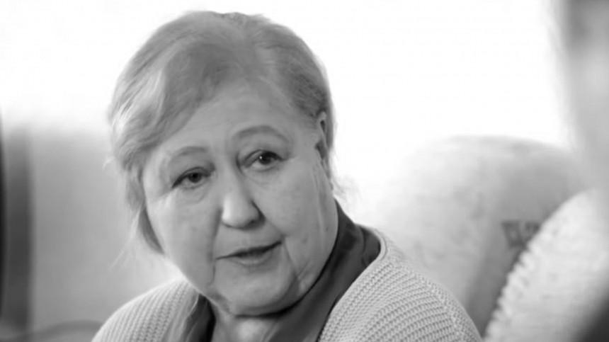 Умерла актриса изсериала «Мухтар» Зинаида Пасютина