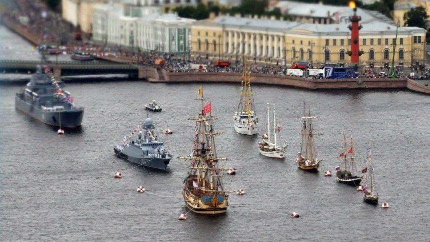 Мощь исила! Каким был Главный военно-морской парад вчесть дня ВМФ России
